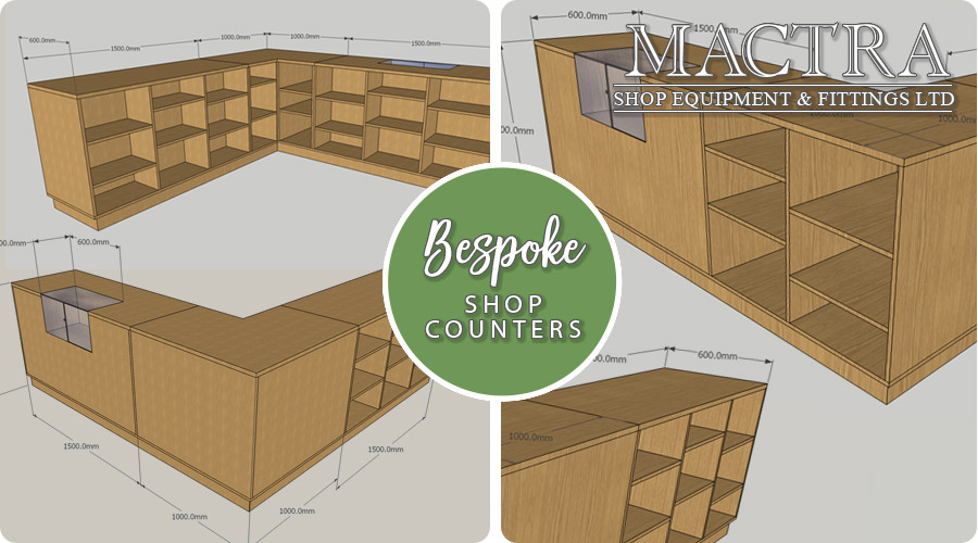 Bespoke Shop Counters by Mactra Shop Equipment & Fittings LTD