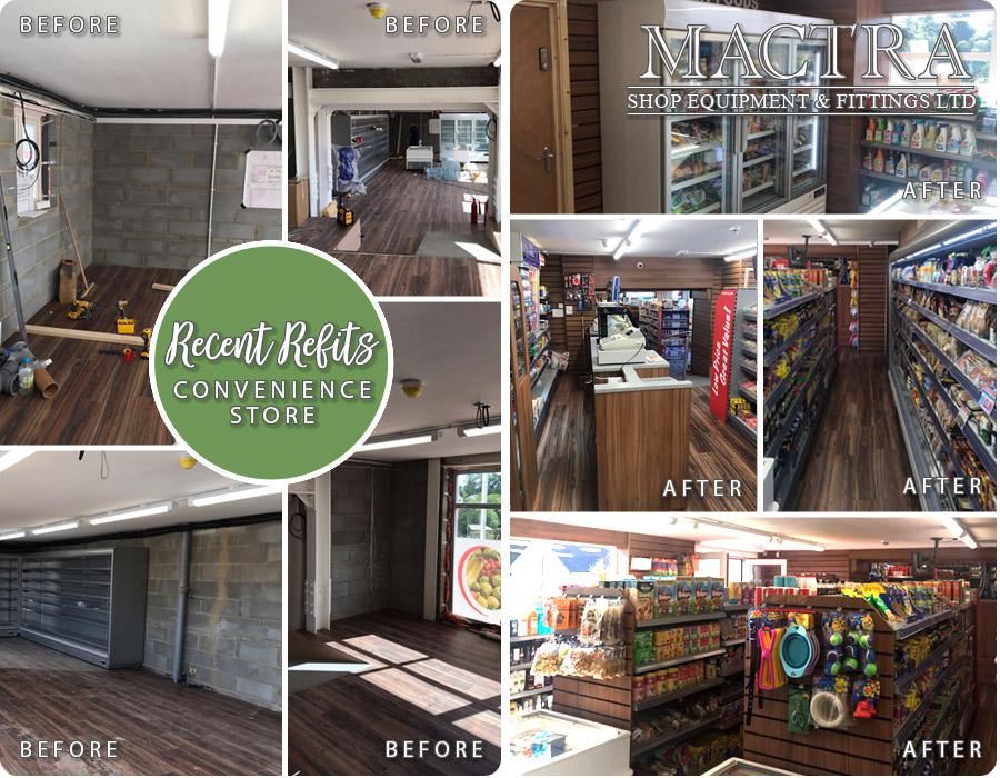 recent refits community shops mactra shop equipment fittings ltd