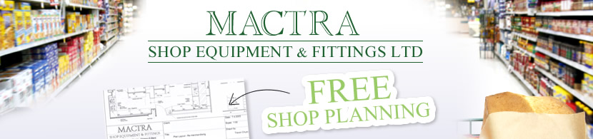 Mactra Shop Equipment & Fittings Ltd Free Shop Planning